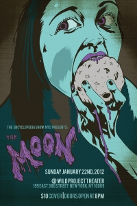 Moon Eater Poster by David Ayllon