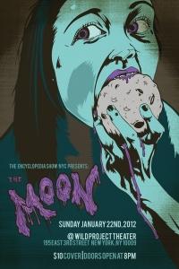 Moon Eater Poster by David Ayllon