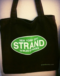 Book bags: Strand NYC