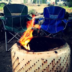 Campin'. 'Nuff said.