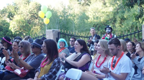 Poetry Circus Crowd